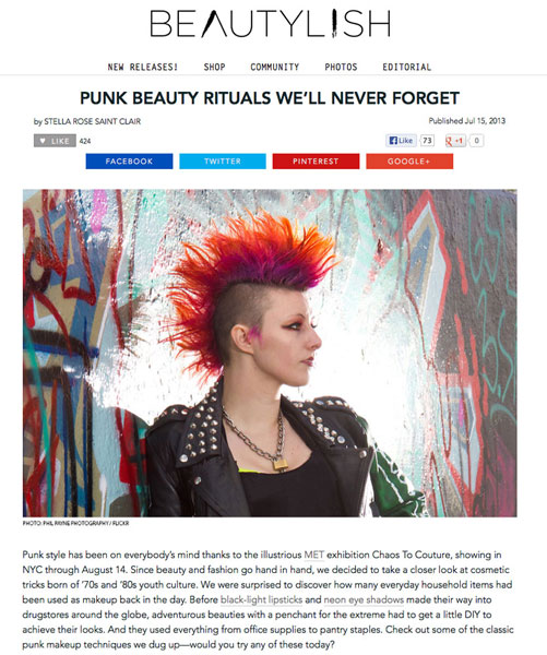 Beautylish Punk Beauty